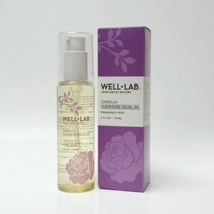 Well + lab camellia cleansing facial oil